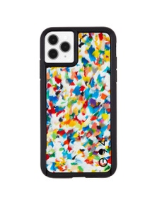 Case-Mate Eco Reworked Case For iPhone 11 Pro Rainbow Confetti