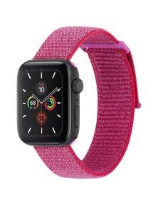 Case-Mate Nylon Sport Apple Watch Band 42-44mmMetallic