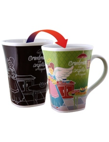 Colour Changing Story Mug - Grandma
