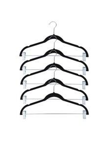 Box Sweden Velvet Hangers w/ Clips 20PK