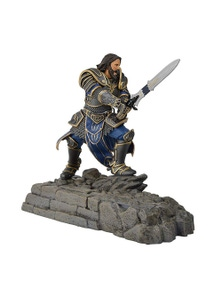 World Of Warcraft Lothar Statue Phone Dock