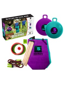 Slackers - Ninja Obstacle Course w/bounce balls