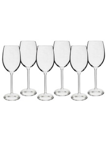 Bohemia Maxima Wine Glass Set/6 350ml