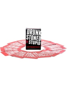 Drunk Stoned or Stupid Extreme Pack Card Game