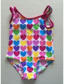 Aqua Perla Baby Doll Printed SPF50+ One Piece Swimwear
