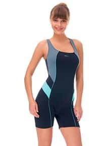 Aqua Perla Womens Winner Racing Swimwear SPF 50+