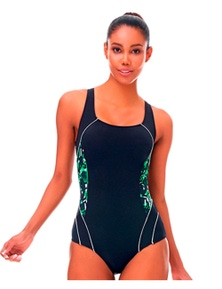 Aqua Perla Womens Clara One Piece Swimwear SPF 50+