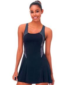 Aqua Perla Womens Mermaid Swimdress Swimwear SPF 50+
