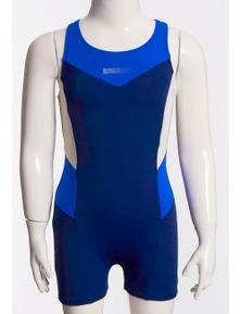Aqua Perla Girl Racer Blue SPF50+ Racing Swimwear