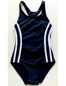 Aqua Perla Girl Mary Black SPF50+ One Piece Swimwear