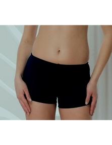 Aqua Perla Womens Sporty Bikini Bottom SPF 50+
