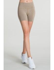 Jerf Womens Aruba Cream Seamless Shorts