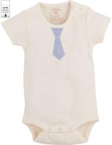 Idilbaby Gots Organic Boy Baby Albert Cream Body Suit