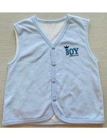 Idilbaby Boy Baby Little Prince Reversible Sleeveless Vest