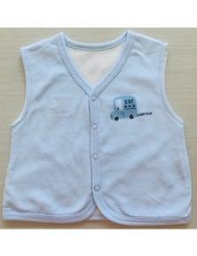 Idilbaby Boy Baby Little Angel Reversible Sleeveless Vest