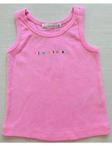 Mamino Girl Dreams Singlet with Embroidery