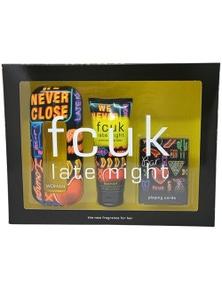 Fcuk Late Nigt 3Pc by Fcuk for Female (100ML) Eau de Toilette - GIFT SET