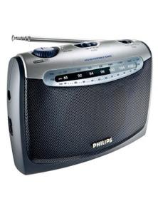 Philips AE2160 Portable Fm Am Radio/AC Power MainsBatteries/Earphone Jack 3.5