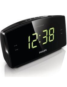 Philips Aj3400 Large Big Led Digital Display Number Fm Radio Dual Alarm Clock
