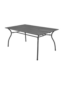 Outdoor Dining Table Steel Mesh