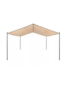 Gazebo Pavilion Tent Oxford Fabric With Pa Coating Canopy Steel