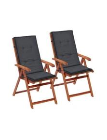 Garden Chair Cushions 2 Pieces