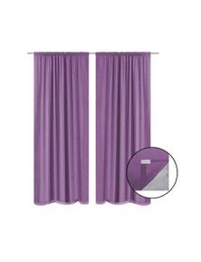 Blackout Curtains 2 Pieces Double Layer