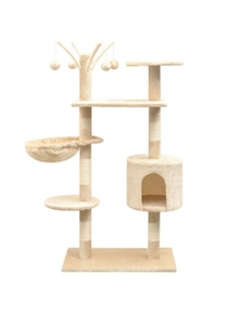 Cat Tree With Sisal Scratching Posts