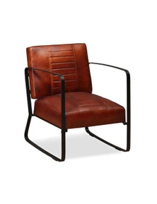 Lounge Chair Genuine Leather