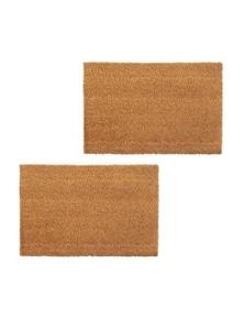Doormats 2 Pieces Coir