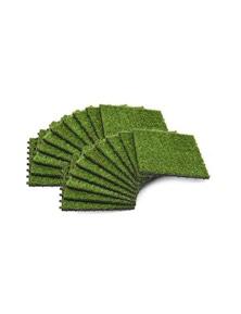 Artificial Grass Tiles 20 Pieces
