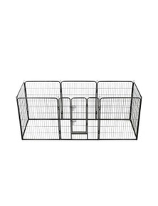 Dog Playpen 8 Panels Steel