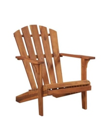Garden Adirondack Chair Solid Acacia Wood