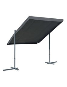 Gazebo With Tiltable Retractable Roof