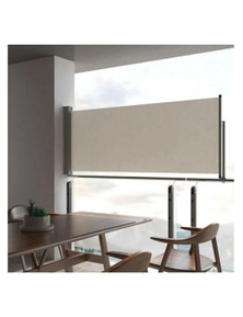 Patio Retractable Side Awning Fabric With Pu Coating