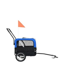 2 In 1 Pet Bike Trailer And Jogging Stroller
