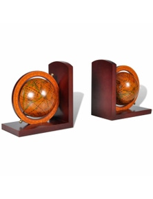 Bookstand Globe Bookend Classic A Pair