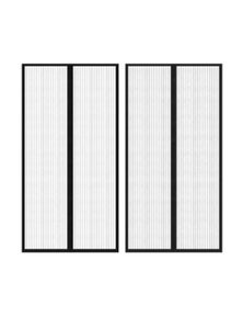 Insect Door Curtain 2 Pieces Magnet