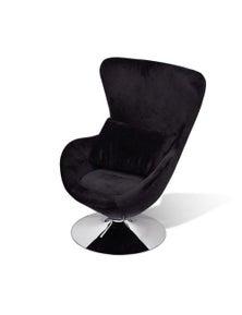 Armchair With Egg Shape