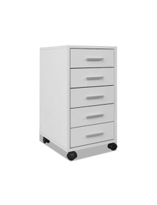 Office Drawer Unit With Castors 5 Drawers