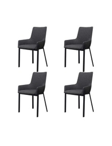 Fabric Dining Chairs 4 Pieces
