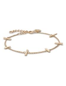 Mulberry Gold Bracelet by Rosefield