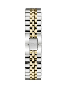 Rosefield The Boxy Gold and Silver Tone Watch Strap