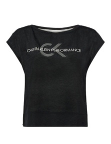 Calvin Klein Performance Women's T-Shirt In Black