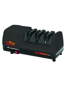 Chefs Choice Diamond Hone Angleselect Electric Knife Sharpener Black 1520 Pro