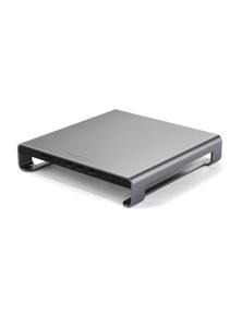 Satechi USB-C Aluminum Monitor Stand Hub for iMac