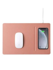 Pout Hands 3 Pro Fast Wireless Charging Mouse Pad - Rose Beige