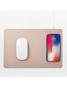 Pout Hands 3 Wireless Charging Mouse Pad - Latte Cream