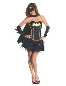 Rubies Batgirl Secret Wishes Corset/Skirt Costume