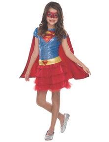 Rubies Supergirl Sequin Tutu Toddler Childrens Costume